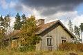 Forsaken farmhouse Royalty Free Stock Photo