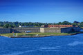 Fort Adams on a Clear Day Royalty Free Stock Photo