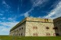 Fort Adams in Newport, RI Royalty Free Stock Photo