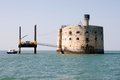 Fort boyard view of france Stock Photography