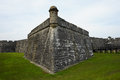 Fort Castillo de San Marcos Royalty Free Stock Photo