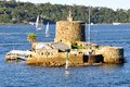 Fort Denison, Sydney Harbour, Australia Royalty Free Stock Photo