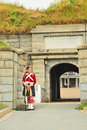 Fort George on Citadel Hill, Halifax, Nova Scotia Stock Photo