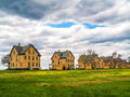 Fort Hancock Homes View Royalty Free Stock Photo