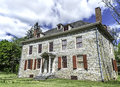 Fort johnson home of sir william and built in the is located between amsterdam and johnstown new york Stock Photos