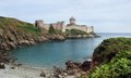 Fort la latte at cap frehel in brittany france Royalty Free Stock Images