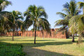 Fort in Maputo, Mozambique Royalty-vrije Stock Afbeeldingen