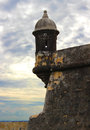 Fort in Old San Juan Puerto Rico Royalty Free Stock Photo