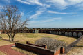 Fort pulaski next to tybee island Stock Photos