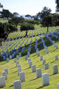 Fort Rosecrans Nation Cemetery Stock Image