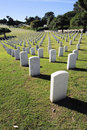 Fort Rosecrans Nation Cemetery Royalty Free Stock Photo