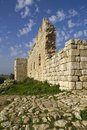 Fort Ruins.Israel d'Antipatris Photographie stock libre de droits