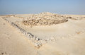 Fort Ruins in Qatar, Middle East Royalty Free Stock Images