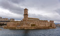 Fort saint jean in marseille provence france Stock Photos