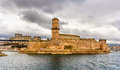 Fort Saint-Jean in Marseille, Provence Royalty Free Stock Photo