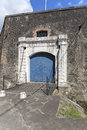 Fort saint louis in fort de france martinique gates of Stock Photography