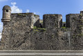Fort saint louis in fort de france martinique wall of Stock Photography