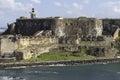 Fort San Felipe del Morro Royalty Free Stock Photo
