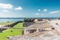 Fort San Felipe del Morro in Puerto Rico Royalty Free Stock Photo