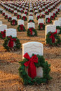 Fort Smith National Historic Cemetery 4 Royalty Free Stock Photo