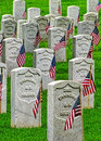 Fort Smith National Historic Cemetery 3 Royalty Free Stock Photo