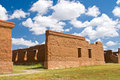 Fort Union, New Mexico Stock Photo
