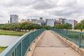 Fort Worth, Texas Skyline Royalty Free Stock Photo
