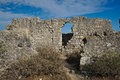 Forte do rato in tavira antique walls of mouse fort algarve portugal Royalty Free Stock Photography