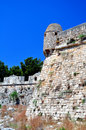 Fortetza: Venetian fortress in Rethymno, Crete Stock Photo