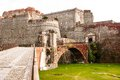 Fortezza del priamar savona italy the fortress of is an imposing structure that overlooks the city center at the port on the hill Stock Photos