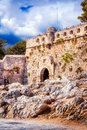 Fortezza of Rethymno - The Venetian Fortress in the Old Town of Rethymno, Crete Royalty Free Stock Photo