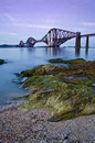 Forth Rail Bridge, Edinburgh Royalty Free Stock Photo