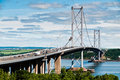 Forth Road Bridge Royalty Free Stock Photo
