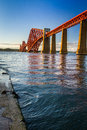 The Forth Road Bridge Royalty Free Stock Photos