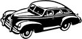 Forties car Royalty Free Stock Photo