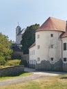Fortification of Cerveny Kamen Castle, Slovakia