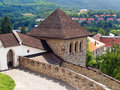Fortification tower of the Castle of Kremnica Royalty Free Stock Photo