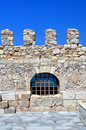 Fortification: Venetian castle (Koules), in Crete. Stock Photo