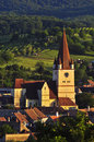 Fortified church Stock Photo