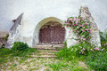 Fortified church entrace gate at viscri in transylvania romania june transylvaniafortified romania Royalty Free Stock Photo