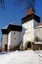 Fortified church of Viscri, Transylvania Stock Image