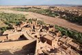 Fortified city of Ait Benhaddou Royalty Free Stock Photos