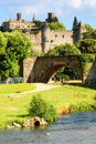Fortress Carcassonne Royalty Free Stock Images