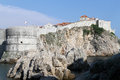 Fortress in Dubrovnic Stock Photography