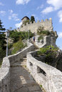 Fortress of Guaita in the city of San Marino Royalty Free Stock Image