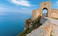 Fortress Kaliakra Black sea Bulgaria Royalty Free Stock Photo