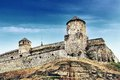 Fortress in kamyanets podilskiy ukraine Royalty Free Stock Image