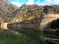 Fortress in Kotor Royalty Free Stock Photos