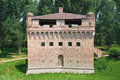Fortress Rocca Stellata. Bondeno. Emilia-Romagna. Stock Photo