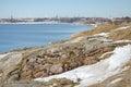 Fortress of suomenlinna island near helsinki finland Royalty Free Stock Image
